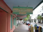 Walking past the famous Margaritaville in Key West Forida